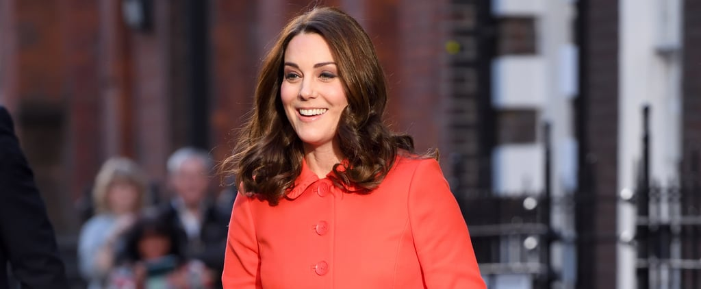 Kate Middleton Red Boden Coat