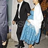 Pregnant Jessica Alba and Cash Warren out in LA.