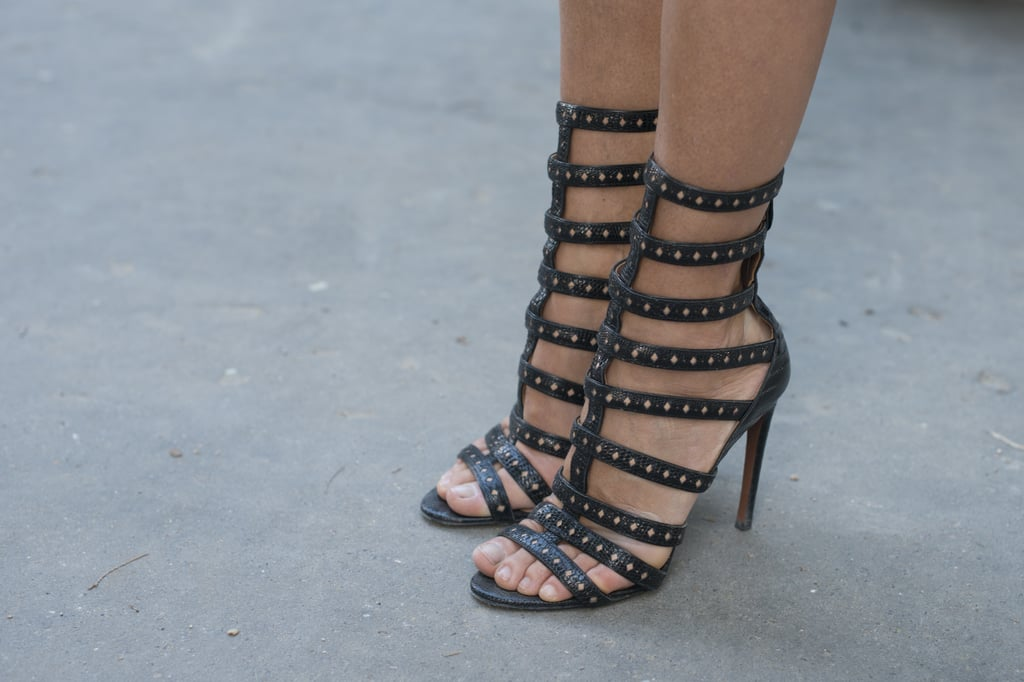 Straps and studs make for one great gladiator sandal.