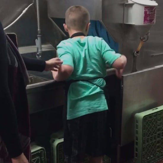 Boy With Autism Dishwasher at Ruby Tuesday