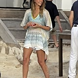 Nicole Richie and Jessica Alba Lounge by the Pool During a St. Barts Trip
