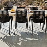 Zina Ember Black Dining Chair
