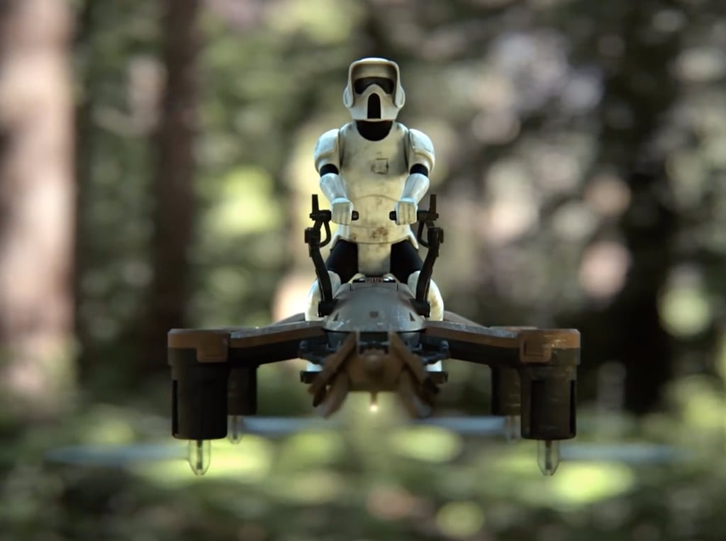 Star Wars Quadcopter Drones