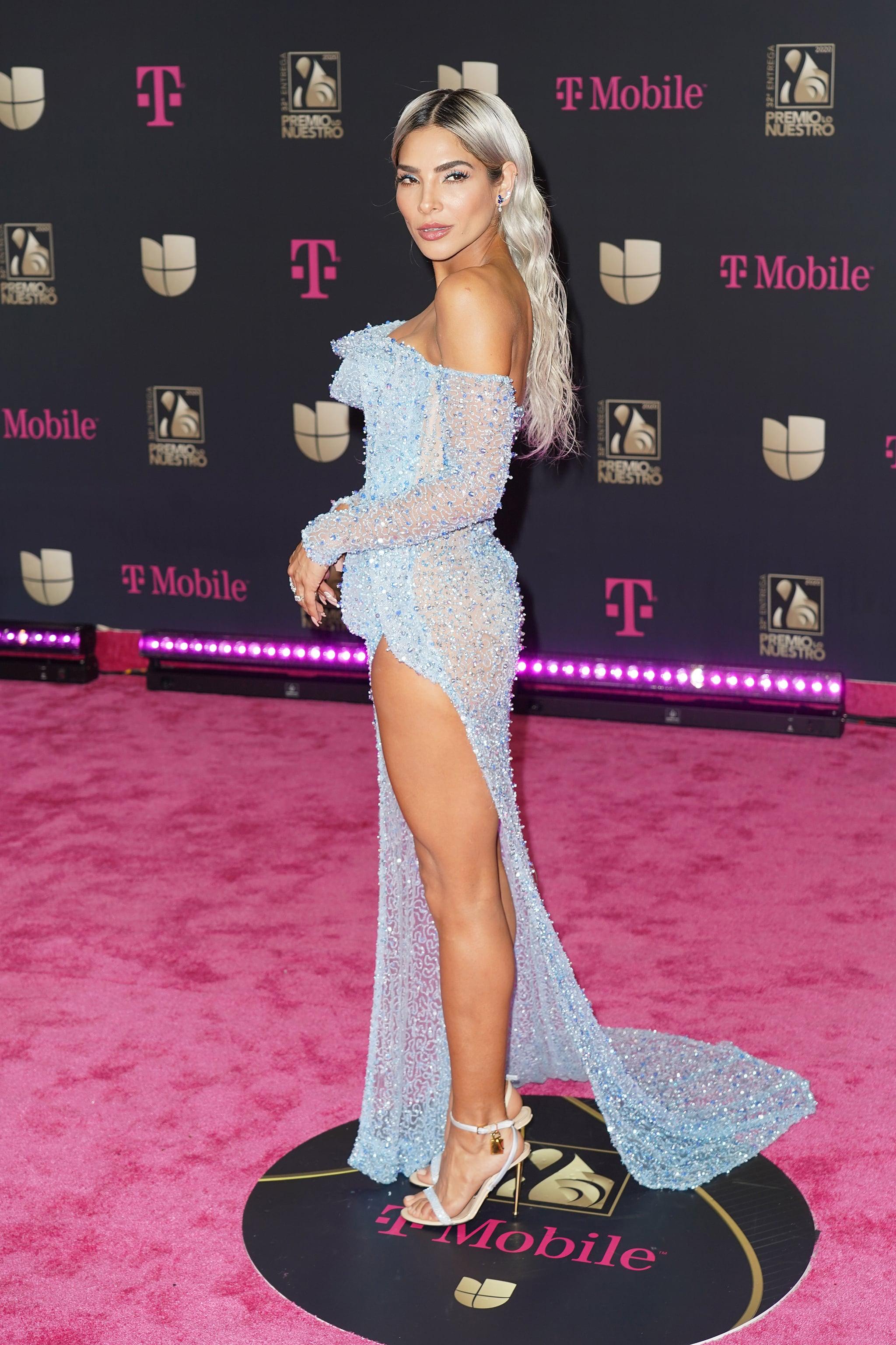 Fashion Thalia Alejandra Espinoza At Premio Lo Nuestro Popsugar Latina