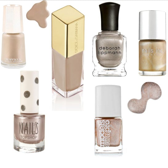 Celebrate These Champion Champagne Nail Shades