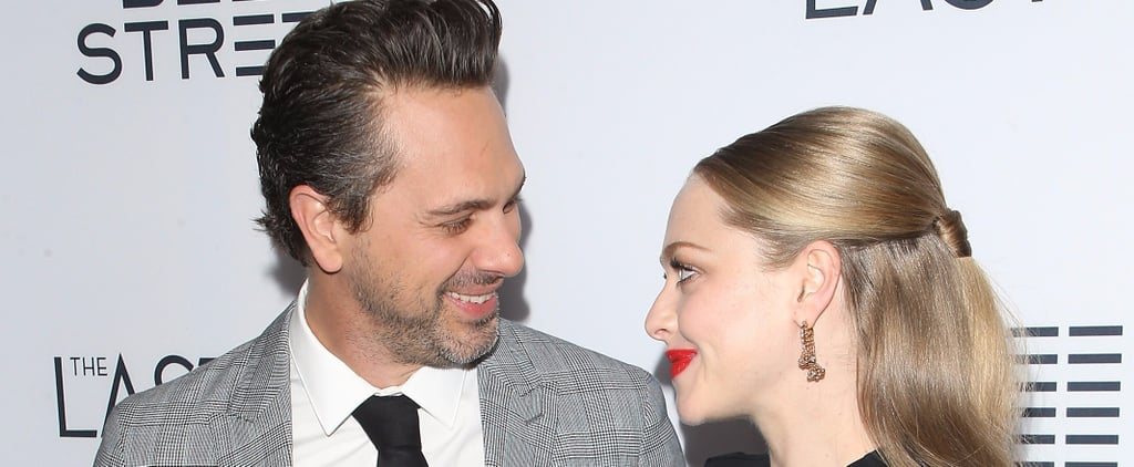 Amanda Seyfried Cradles Her Baby Bump at a Movie Premiere With Fiancé Thomas Sadoski