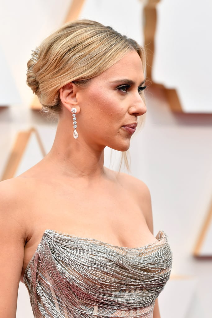 Scarlett Johansson's Earrings at Oscars 2020