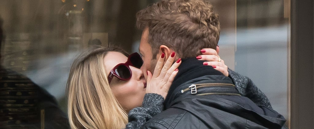 Chris Martin Flaunts His New Romance With Hot PDA in Paris