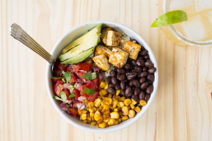 Chipotle inspired vegan burrito bowl vegan latin dishes vegan latin dishes forumfinder Choice Image