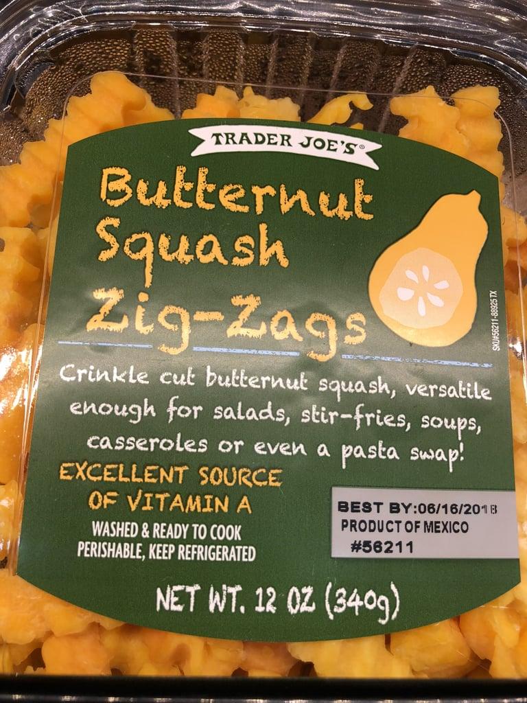 Butternut Squash Zig-Zags