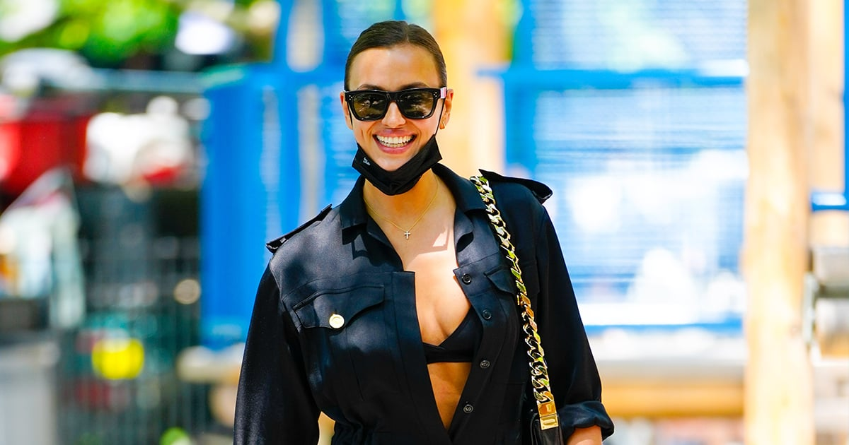 From Exposed Bras to Combat Boots, Irina Shayk Knows How to Make an Outfit Sexy