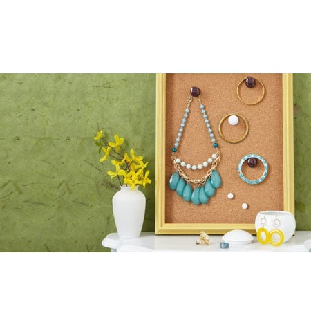 Make a feature of your jewellery collection by...