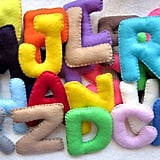 Learning Alphabet Felts