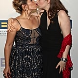 With Lena Dunham on the Red Carpet