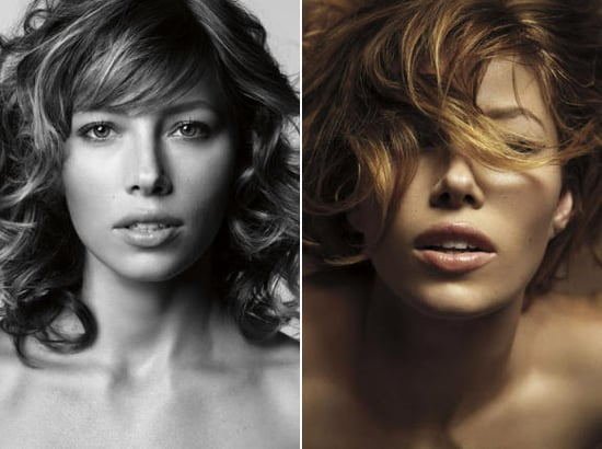 Jessica Biel does Marie Claire UK dec 08