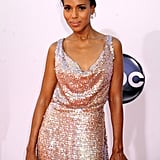 Kerry Washington stunned in sparkles.