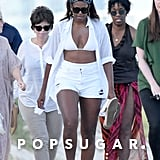 Michelle Obama's White Bikini in Miami