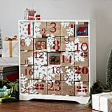 Snowflake Wood Advent Calendar