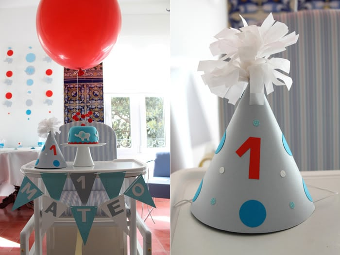 Modern Elephant Balloon Birthday