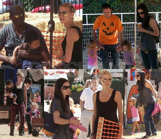 Celebrity Pumpkin Patch Fun!
