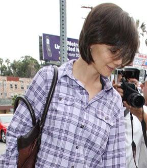 Katie Holmes in LA