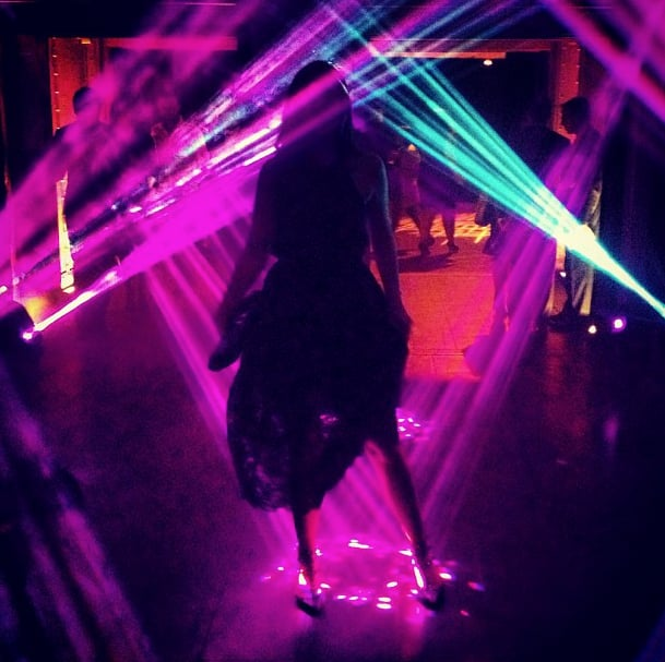 Tibi's electric shot made us feel like we were there at the Whitney Studio party. Source: Instagram user tibipr