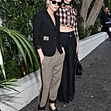Kristen Stewart and St. Vincent at CFDA Vogue Event 2016