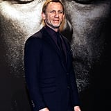 Daniel Craig promoting The Girl With the Dragon Tattoo.