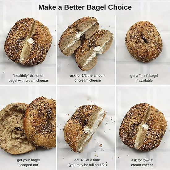 How to Save Bagel Calories