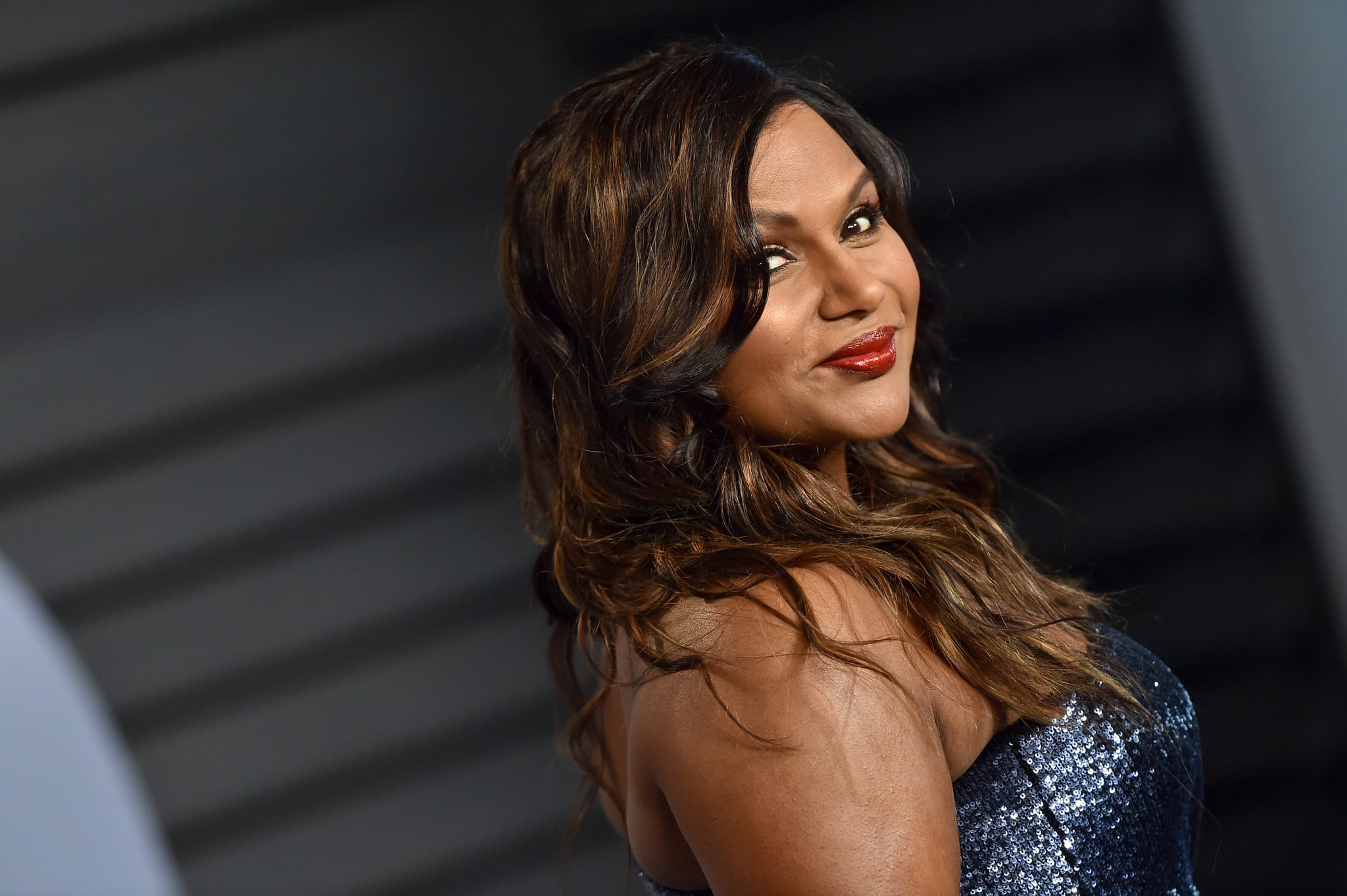 BEVERLY HILLS, CA - MARCH 04:  Actress Mindy Kaling attends the 2018 Vanity Fair Oscar Party hosted by Radhika Jones at Wallis Annenberg Center for the Performing Arts on March 4, 2018 in Beverly Hills, California.  (Photo by Axelle/Bauer-Griffin/FilmMagic)