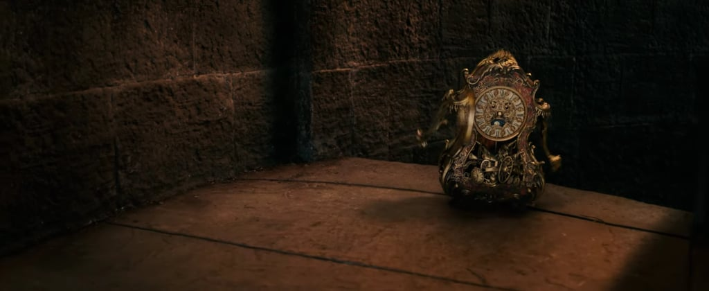 And Cogsworth is frankly insulted that she DIDN'T expect them to talk.