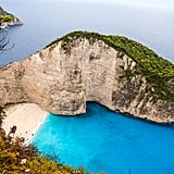 Swim through the stunning caves of Zakynthos Island in Greece.