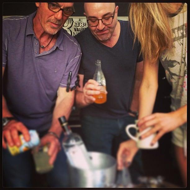 Brooklyn Decker and her team had some pre-Met Gala drinks. Source: Instagram user brooklynddecker