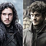 Jon Snow and Ramsay Bolton From Game of Thrones