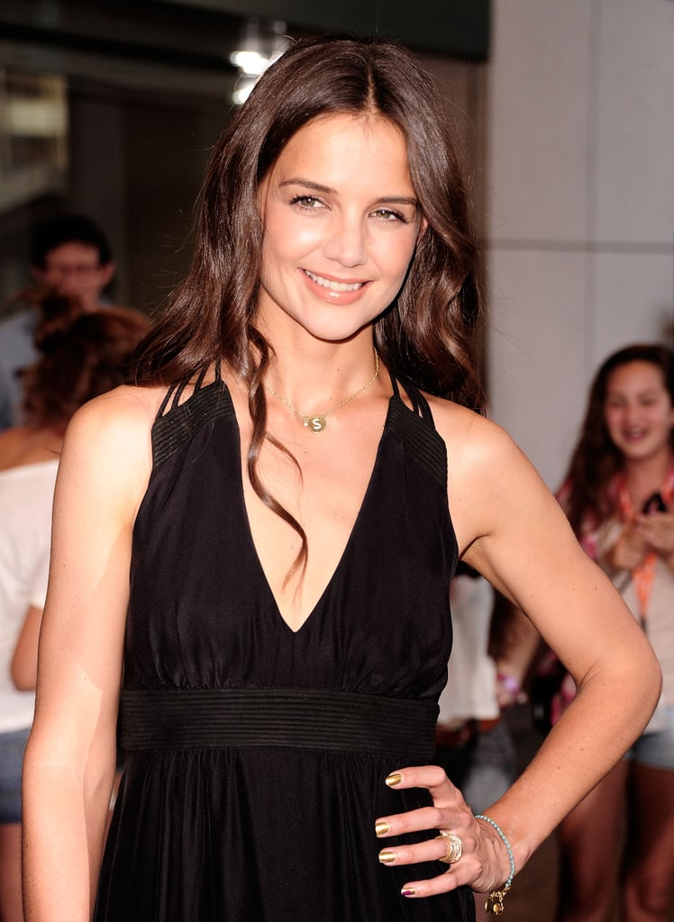 Katie Holmes promotes Don't Be Afraid of the Dark.