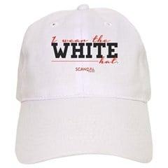 I Wear the White Hat Cap
