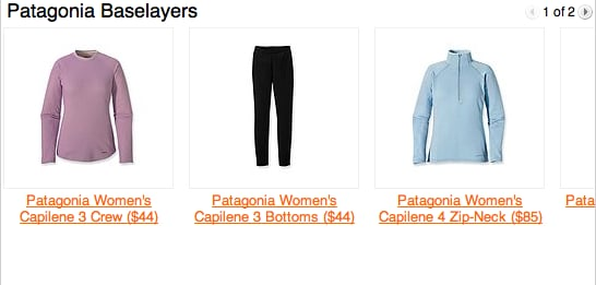 Warm Baselayers From Patagonia