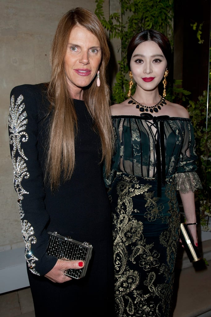 Anna Dello Russo and Fan Bingbing