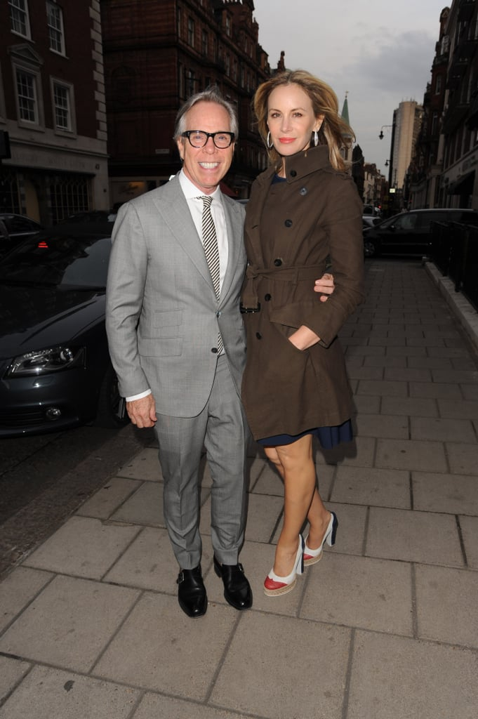 Tommy Hilfiger and Dee Ocleppo in London.