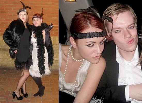 30/10/2008 Jaime Winstone and Alfie Allen