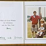 بطاقة من تشارلز وديانا، 1983