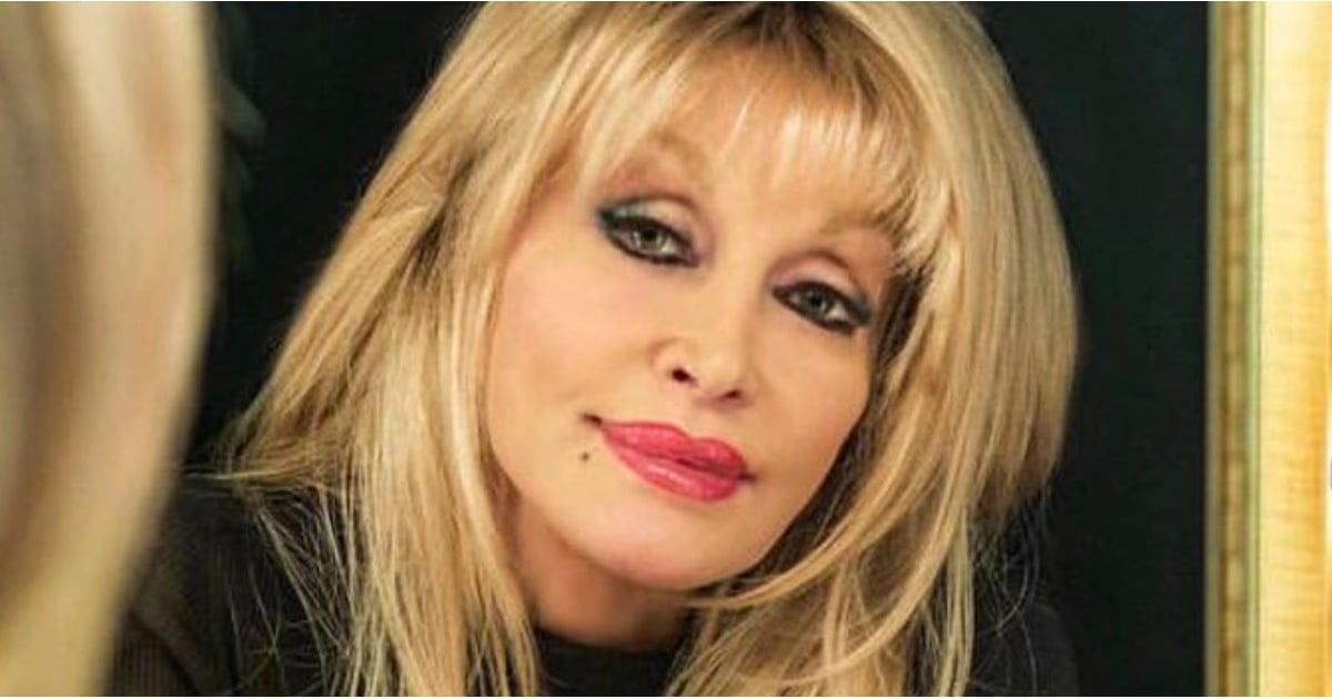 Dolly Parton Straight Hair 2018 Popsugar Beauty