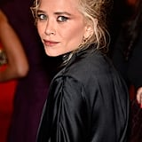 Mary-Kate Olsen wore a dramatic black dress by The Row.
