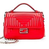 Fendi Double-Side Quilted Leather Satchel