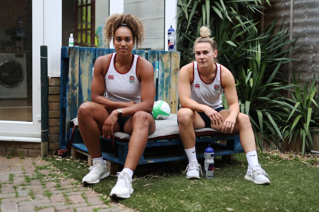 Megan Jones and Celia Quansah (Team Great Britain Women's Rugby)