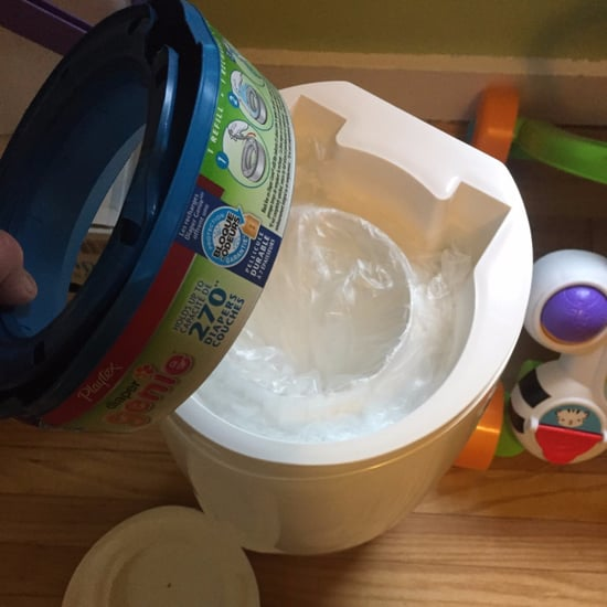 Diaper Genie Garbage Bag Hack