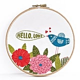 Lisa Congdon Hello Embroidery Kit