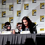 When He Described the Process of Becoming Khal Drogo While Wearing Drogo's Signature Eyeliner