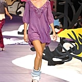 Gisele Bündchen on the Triton Runway at São Paulo Fashion Week Fall/Winter 2005