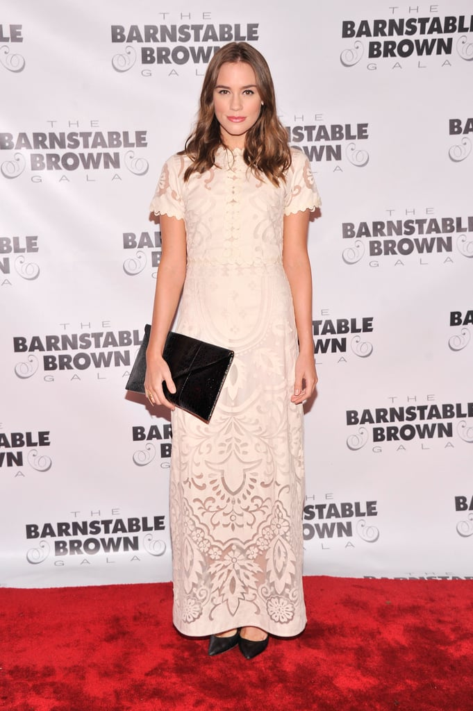 Revenge's Christa B. Allen went formal for the Barnstable Brown Gala on Friday.